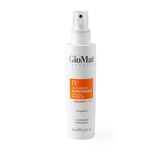 Trattamento professionale nutritivo in olio per capelli spenti.