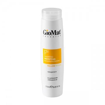 Shampoo idratante protettivo, che dona nutrimento a tutta la chioma, rendendola morbida e luminosa.