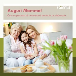 🌷Il nostro augurio a tutte le Mamme! www.GioMat.it