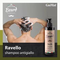 Ravello è lo shampoo che neutralizza le sfumature gialle di barba e capelli bianchi o grigi. Richiedilo al tuo parrucchiere o acquistalo online www.GioMat.it  #barber #barbershop #barberlife #barbershopconnect #barbers #barberlove #barbersinctv #barbering #barbergang #barberworld #barbersince98 #BARBERHUB #barberconnect #barberia #Barbero #barberlifestyle #barbernation #barbergame #barberlessons #barberstyle #Barbershops #barberart #barberpost #barbersarehiphop #barberswag #barberrespect #barberman #barbercut #barbergrind #barberschool